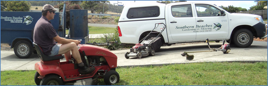 Southern Beaches Mowing, Dodges Ferry Tasmania